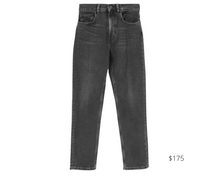 Load image into Gallery viewer, https://www.everlane.com/products/womens-high-rise-straight-jean-tall-washedblack?collection=womens-jeans