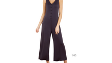 Load image into Gallery viewer, https://www.reddress.com/products/the-washed-black-mojave-jumpsuit?gclid=EAIaIQobChMIsr2op_mR6wIVkYbACh3kvgvmEAQYByABEgIC0PD_BwE