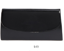 Load image into Gallery viewer, https://www.nordstromrack.com/shop/product/2899111/nordstrom-leather-clutch?color=BLACK