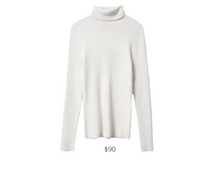 Load image into Gallery viewer, https://www.everlane.com/products/womens-merino-rib-turtleneck-bone?locale=US&utm_medium=cpc&utm_source=pla-google&utm_campaign=838131515&utm_content=463270460083&utm_term=pla-950047907510&adgroup=114049151892&pid=8160-58855&device=c&gclid=Cj0KCQiA7qP9BRCLARIsABDaZziTwc0teFG5yfKn1nitxT9CQL_boRsWXcY7yKSWGn77SlxG6R7g6M0aAk-nEALw_wcB