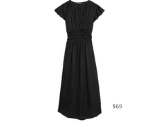 Load image into Gallery viewer, https://www.express.com/clothing/women/satin-short-sleeve-pleated-midi-dress/pro/07824590/color/Pitch%20Black/e/regular/?rx_channel=search&channel=search&merchantId=41548191&programId=104383258&affiliateId=101184100&&mrkgcl=638&mrkgadid=3334455082&CID=SEM_Goo-PLA-F-Main-Retail-94-000-Dresses-US-Product-NA&SearchID=Goo-PLA-F-Main-Retail-94-000-Dresses-US-Product-NA&product_id=24793889&adpos=&creative=339098606625&device=c&matchtype=&network=g&gclid=EAIaIQobChMIlpLLmrex6gIVSrzACh3ioA7AEAQYBCABEgKRXvD_BwE&gcls