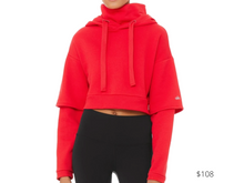 Load image into Gallery viewer, https://www.aloyoga.com/products/w3434r-eternal-hoodie-scarlet