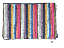 Load image into Gallery viewer, https://inkalloy.com/collections/all-bags/products/multi-mini-stripe-seed-bead-clutch