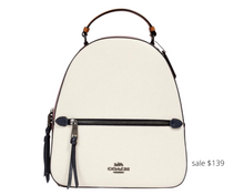 Load image into Gallery viewer, https://www.coachoutlet.com/coach-jordyn-backpack-in-colorblock/2732.html?dwvar_color=QBCAH#prefn1=silhouette&prefv1=Backpacks&start=1