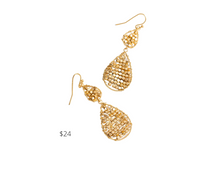 Load image into Gallery viewer, https://www.francescas.com/product/alison-beaded-double-teardrop-earrings.do?sortby=ourPicksAscend&refType=&from=fn&ecList=7&ecCategory=100254