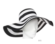 Load image into Gallery viewer, https://www.target.com/p/women-s-floppy-hat-a-new-day-8482-black-white/-/A-52844257?ref=tgt_adv_XS000000&AFID=google_pla_df&fndsrc=tgtao&DFA=71700000012544497&CPNG=PLA_Accessories%2BShopping&adgroup=SC_Accessories&LID=700000001170770pgs&LNM=PRODUCT_GROUP&network=g&device=c&location=9010264&targetid=pla-905291493563&ds_rl=1246978&ds_rl=1248099&ds_rl=1241788&gclid=CjwKCAjwlbr8BRA0EiwAnt4MTgYS4j-dGL4qmZ7Dz9XHiFBJxeY8Ebaw8BlG9KLH7ZkUdEDRRtYOWhoCy_QQAvD_BwE&gclsrc=aw.ds