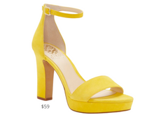 Load image into Gallery viewer, https://www.vincecamuto.com/shoes/view-all/sathina.html?color=daisy-yellow&size=9-5&utm_source=NMPiShopping&utm_medium=cpc&utm_content=ppc&utm_campaign=search&utm_term=kw&gclid=EAIaIQobChMIkqGd58_V6gIVBL7ACh0bDQH2EAQYBiABEgIK0fD_BwE&gclsrc=aw.ds