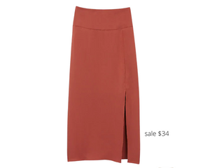 https://www.express.com/clothing/women/high-waisted-satin-front-slit-midi-skirt/pro/07739519/color/Henna/#reviews