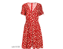 Load image into Gallery viewer, https://www.madewell.com/button-front-tie-sleeve-retro-dress-in-happy-hibiscus-AO276.html?dwvar_AO276_color=PP0006&cgid=apparel-dress#prefn1=isBackroom&prefv1=false&srule=Top-Rated&start=25&sz=36