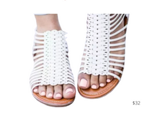 Load image into Gallery viewer, https://www.zoyne.com/item/socofy-plain-flat-ankle-strap-peep-toe-casual-gladiator-sandals-3220487.html?variant=46988130
