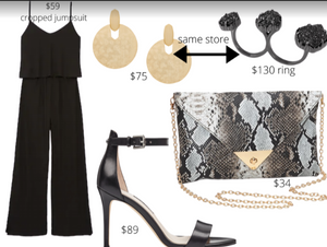 Inverted Triangle Jumpsuit