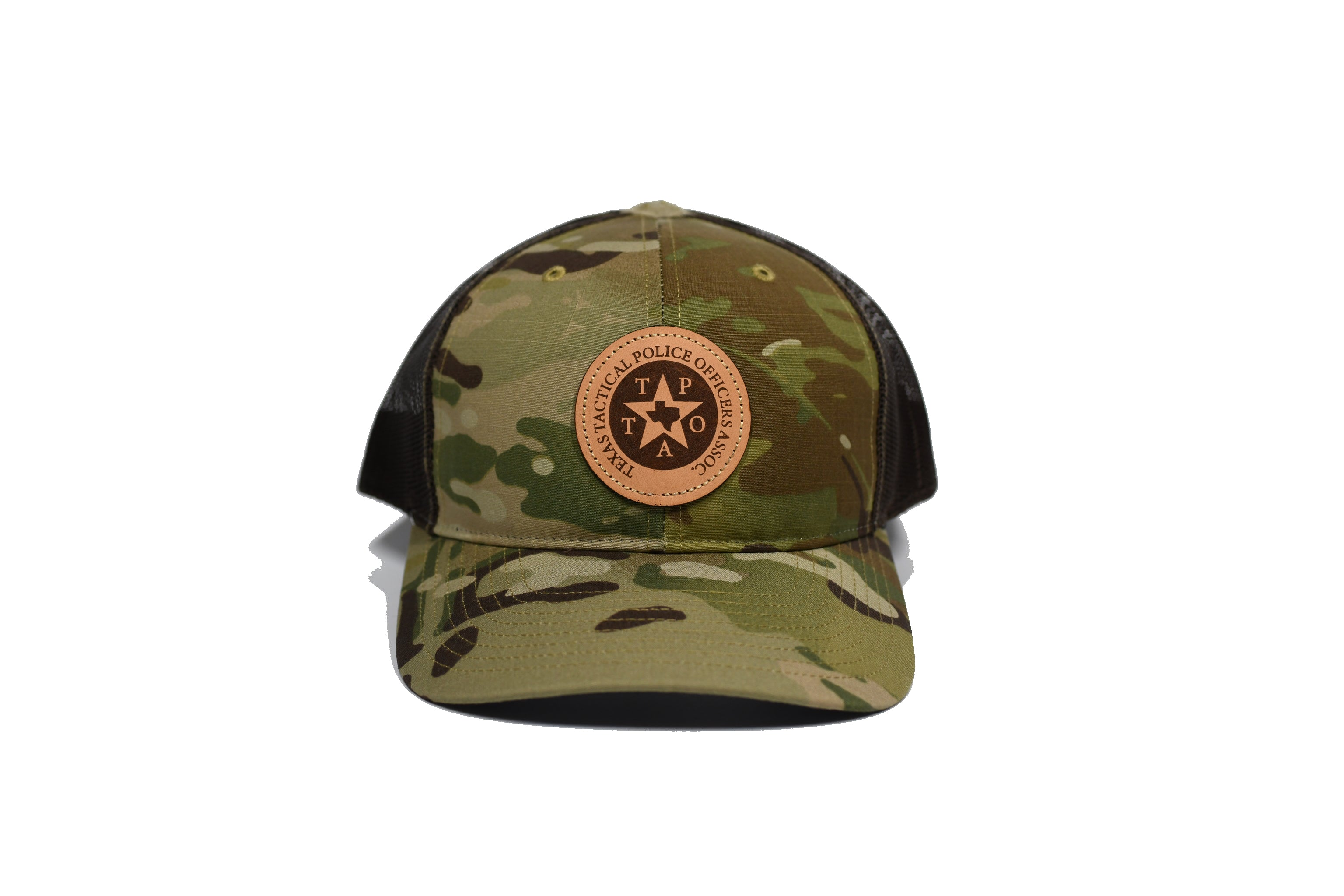Leather Patch (Circle Logo) Hat