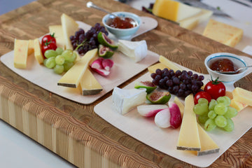 Creating individual cheese plates