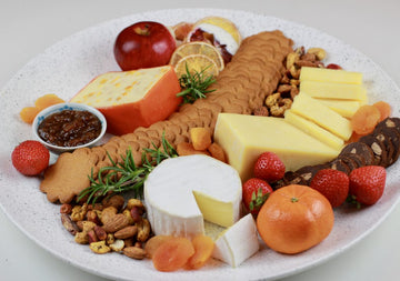 Holiday Dessert Cheese Platter
