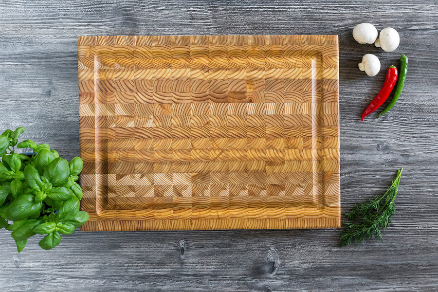 Larchwood Carving Board - Medium