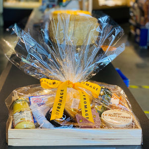 Gift Basket: Cheese & Charcuterie