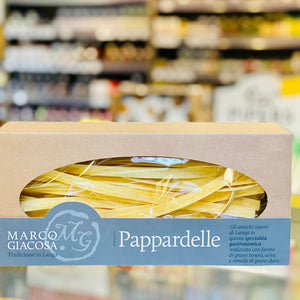 Marco Giacosa Pasta: Pappardelle