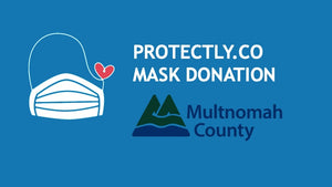 Mask donation ppe multnomah county portland