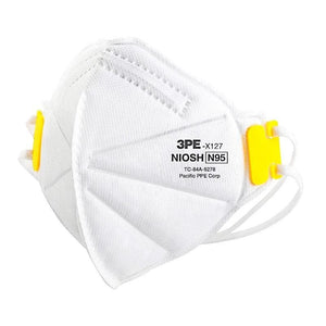 3PE N95 Respirator Mask - 25 Pack - Protectly