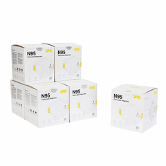 3PE N95 Respirator Mask - 25 Pack ($4.50 per mask) - Protectly