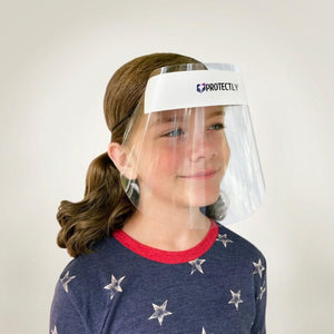 usa made face shields for kids