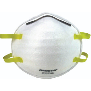 Gerson 1730 NIOSH N95 Mask - 20 Pack ($6.75 per mask)