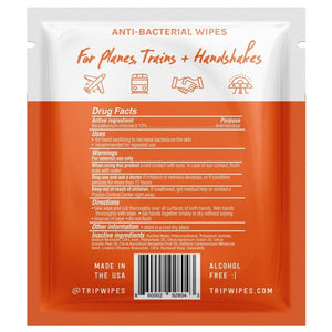 Trip Wipes - 30 Pack (1 Month Supply) - Protectly