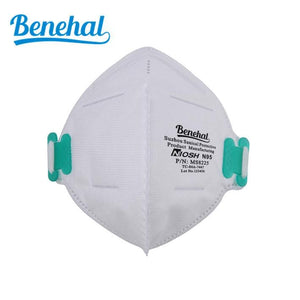 Benehal MS8225 N95 - 5 Pack ($7.00 per mask) - Protectly