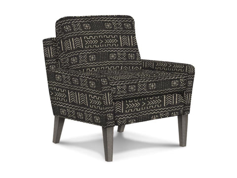 Tribal Pattern Accent Chair