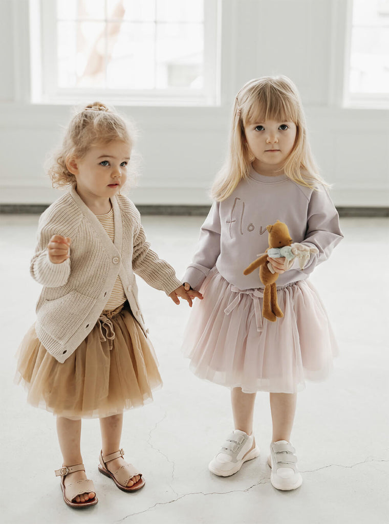 The sweetest little dancer outfits in the new Jamie Kay Carousel Look book.