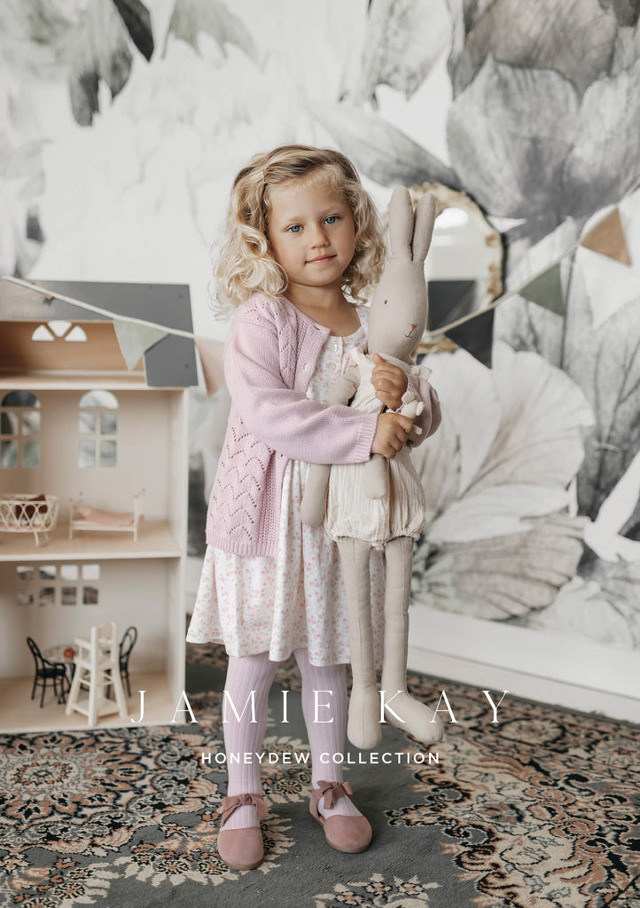 The gorgeous new Honeydew range from Jamie Kay. Filled with beautiful basics, knits and dresses this is the perfect range for boys and girls alike. Available online and in store at Little Gatherer Childrens Boutique, New Zealand.