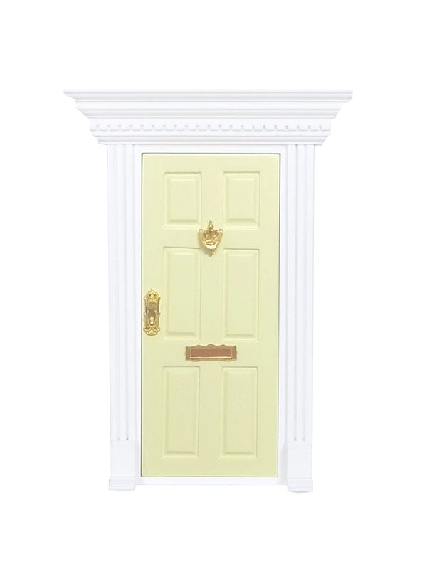 Fairy Door - Pale Yellow