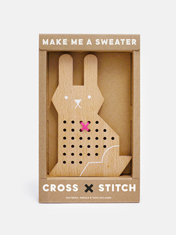 Moon Picnic Cross Stitch Friend - Rabbit