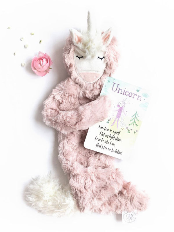 Slumberkins Unicorn - Rose