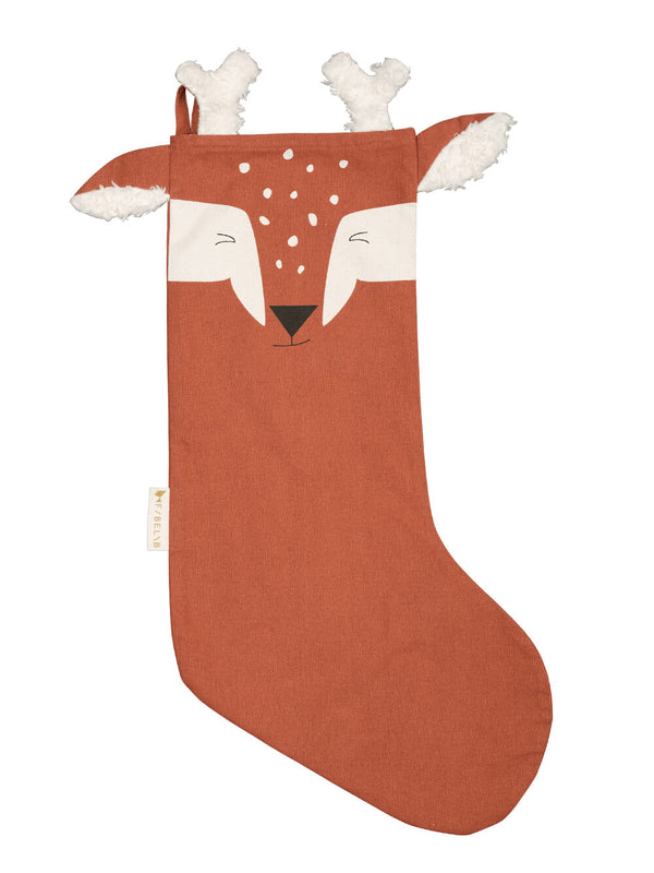 Fabelab Deer Christmas Stocking - Cinnamon