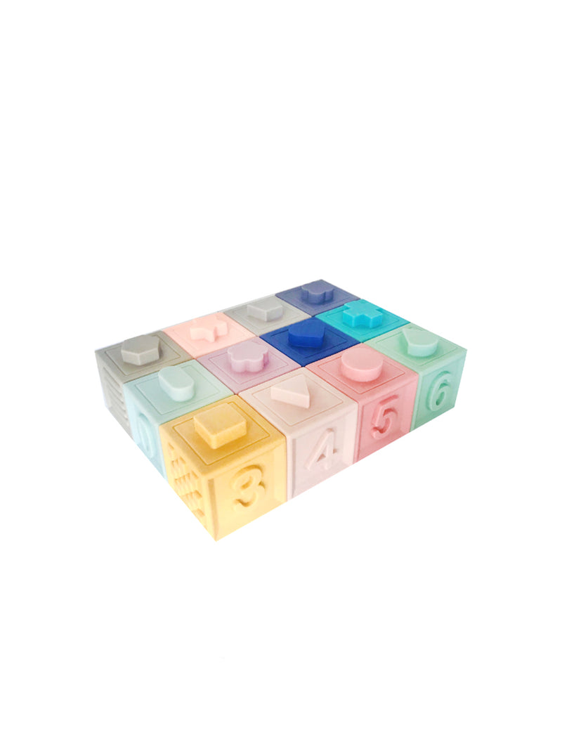 Petite Eats Silicone Building Blocks