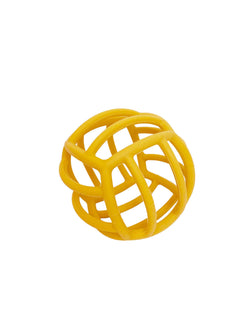 Petite Eats Silicone Teething Ball - Mustard