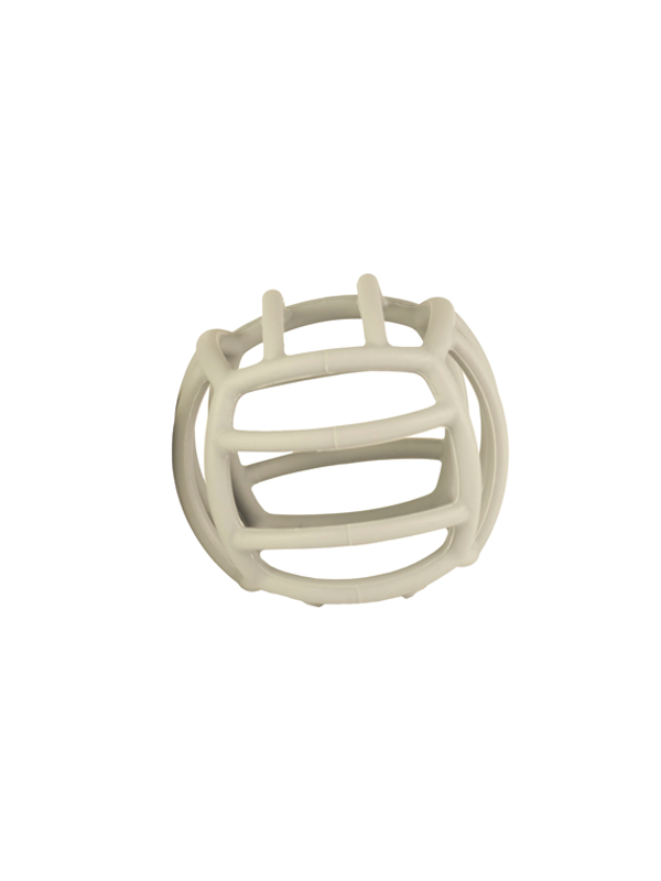 Petite Eats Silicone Teething Ball - Sand