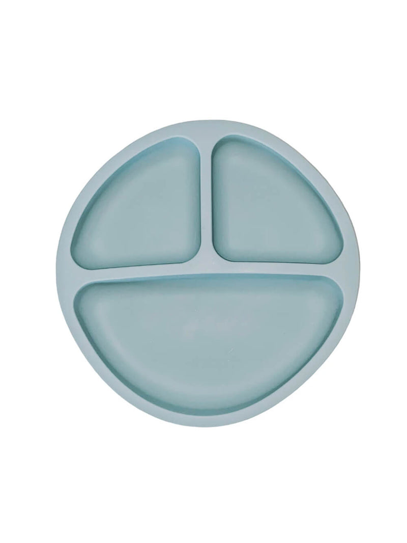 Petite Eats Silicone Suction Plate - Teal