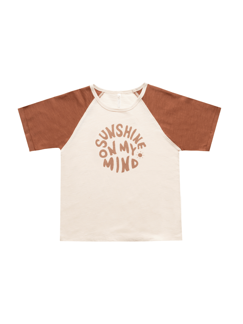 Rylee + Cru Raglan Tee - Sunshine on My Mind