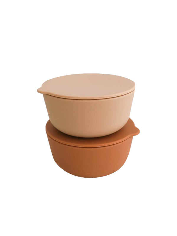 Rommer Bowl Set - Cinnamon/Nude
