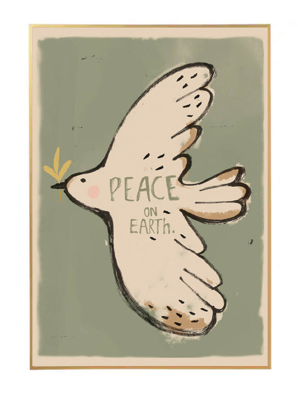 Studio Loco Wall Poster - Peace Bird