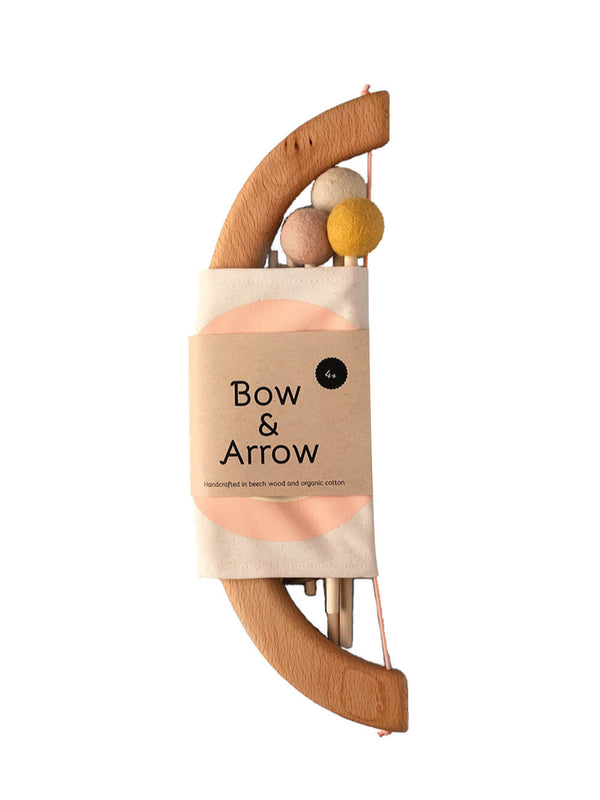 Studio Tangerine - Bow & Arrow Set - Peach