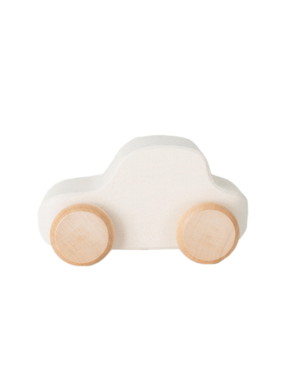 Raduga Grez Toy Car - White