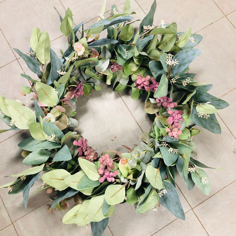Custom Artificial Door Wreaths