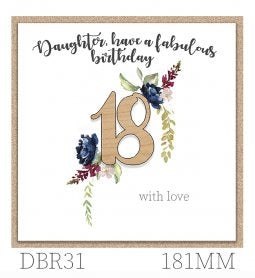 DBR31 - Daughter, Have a Fabulous Birthday 18