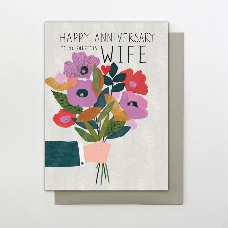 Wife Anniversary Flowers - CR14