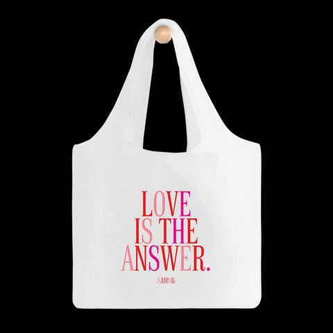 Quotable Bag - BGD292-Love Is The Answer
