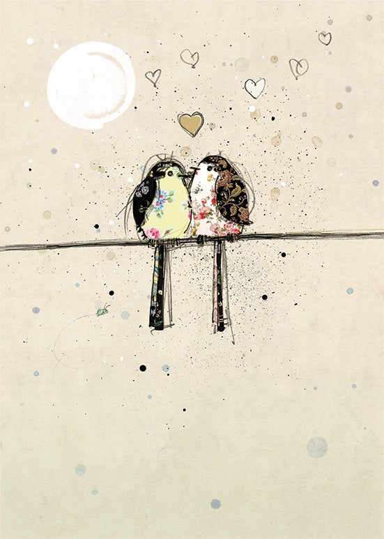 H006-Two Lovebirds