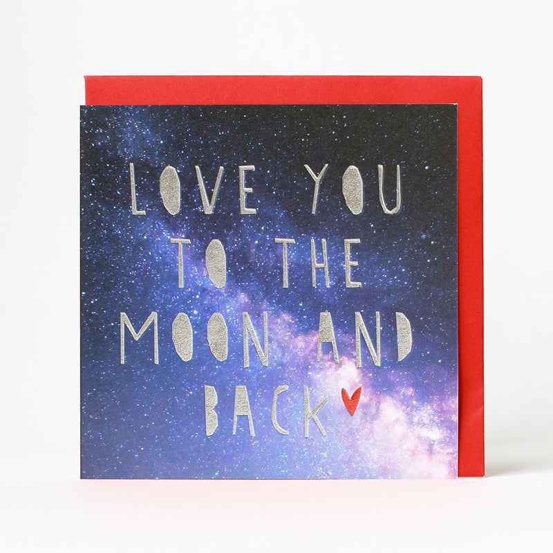 Card-To The Moon And Back